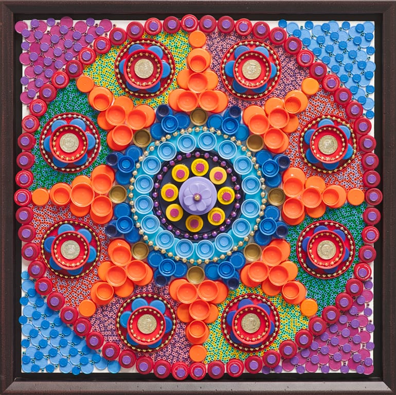 Plastic-Mandala